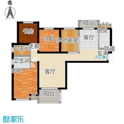 宏林名苑137.00㎡面积13700m户型