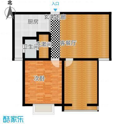 爱菊花园91.00㎡面积9100m户型