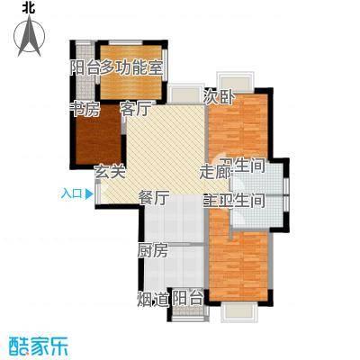 唐品A+116.98㎡高层转角A24面积11698m户型