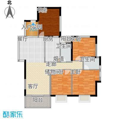 唐品A+129.94㎡高层转角A14面积12994m户型