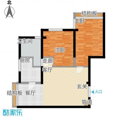 曲江观唐78.00㎡A11面积7800m户型