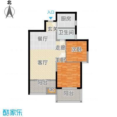 曲江观唐105.00㎡D21面积10500m户型