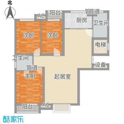 紫薇大厦130.00㎡面积13000m户型