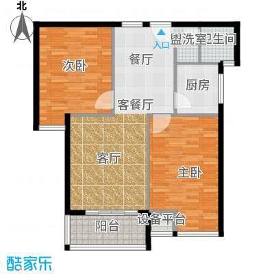 江林新城96.10㎡B1-11面积9610m户型