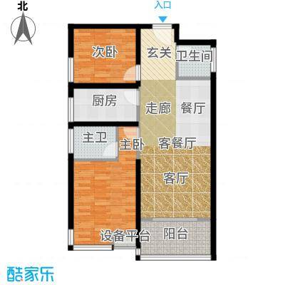 江林新城95.00㎡C1-11面积9500m户型