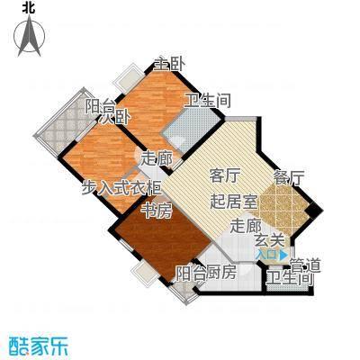 金水大厦135.37㎡A+B面积13537m户型