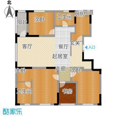 精典四季花园162.00㎡面积16200m户型