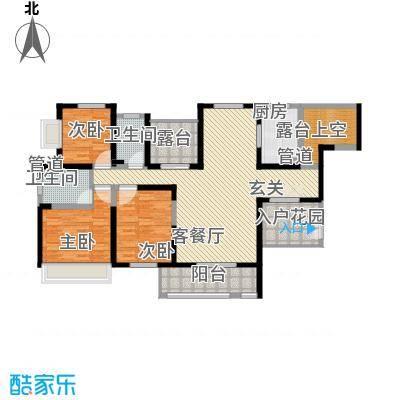 振业泊墅143.00㎡7#、8#、9#楼C1面积14300m户型