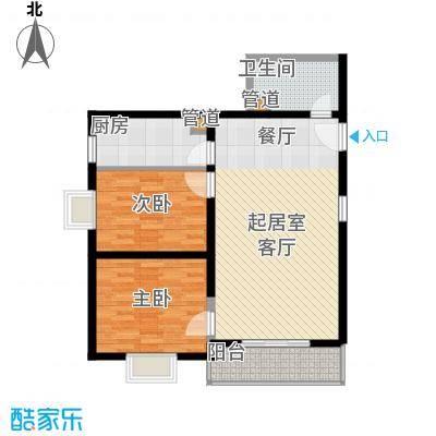 凯森福景雅苑88.00㎡面积8800m户型