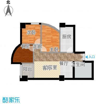 中天国际公寓111.58㎡1面积11158m户型