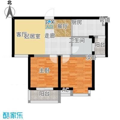 中天雅苑85.00㎡B3面积8500m户型