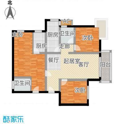 中天国际公寓123.00㎡面积12300m户型