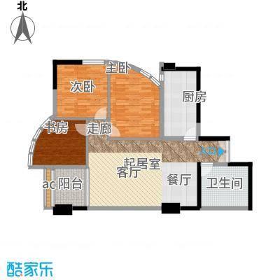 中天国际公寓111.58㎡面积11158m户型