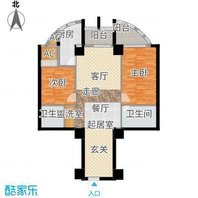 中天国际公寓114.77㎡1面积11477m户型
