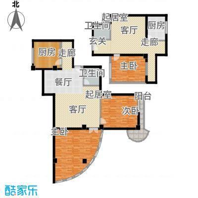 秋涛阁197.12㎡亲情型面积19712m户型