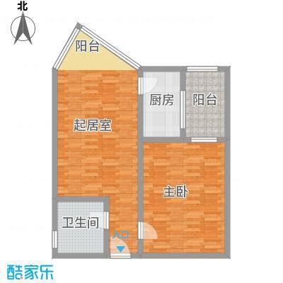 西安高新区创业研发院75.00㎡面积7500m户型