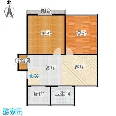 丹桂公寓68.00㎡面积6800m户型