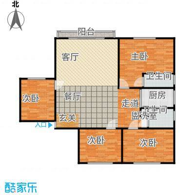 丹桂公寓112.00㎡面积11200m户型