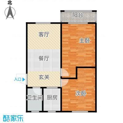 丹桂公寓67.00㎡面积6700m户型