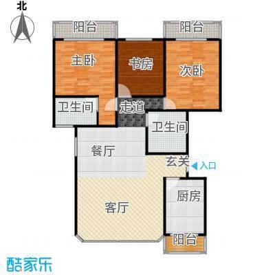 丹桂公寓113.00㎡面积11300m户型