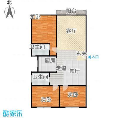 丹桂公寓115.00㎡面积11500m户型