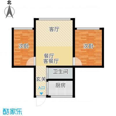 庆春东路62号院63.00㎡面积6300m户型