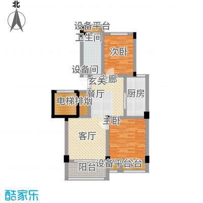 元都新苑5#2单元01室偶数户型