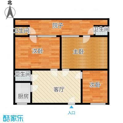 横河新村51.00㎡面积5100m户型