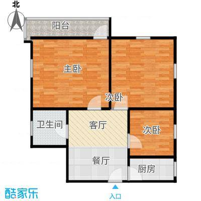 德胜新村南63.00㎡3面积6300m户型