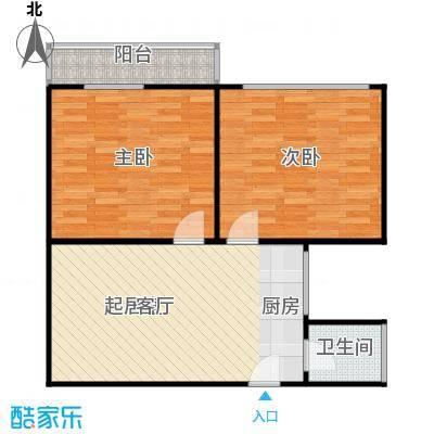 豆腐巷65.00㎡面积6500m户型