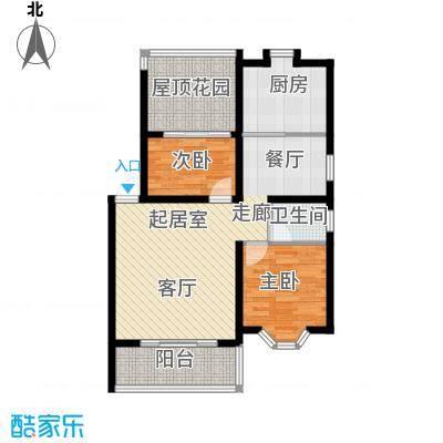 第三工人文化宫居民楼82.00㎡面积8200m户型