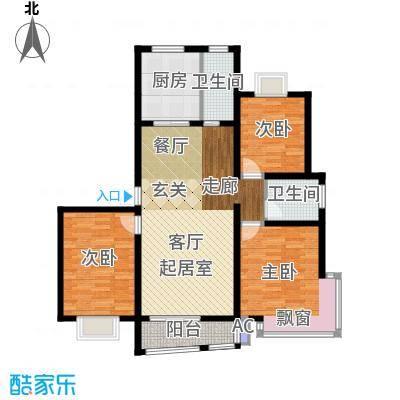 广利佳苑112.40㎡面积11240m户型