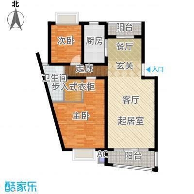 广利佳苑115.21㎡面积11521m户型