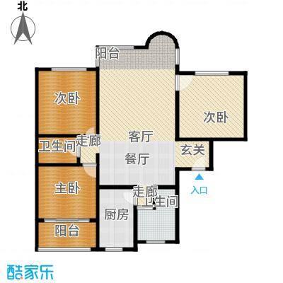 米兰公寓135.00㎡面积13500m户型