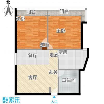 东园大楼82.00㎡面积8200m户型