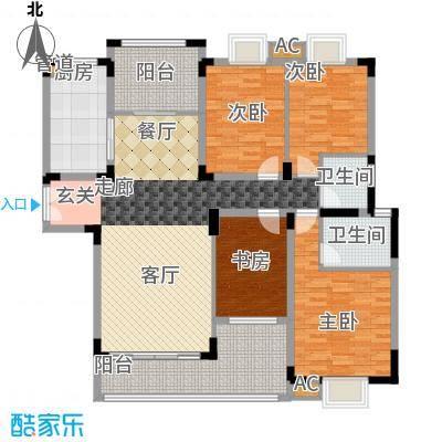 金领公寓142.12㎡B22面积14212m户型