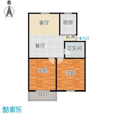 邮政职工公寓79.00㎡面积7900m户型