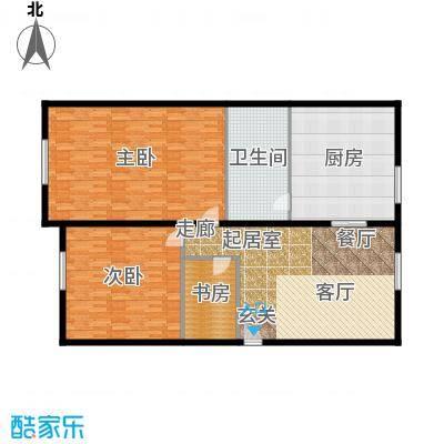 云龙公寓166.00㎡面积16600m户型