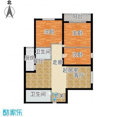 云龙公寓135.00㎡面积13500m户型