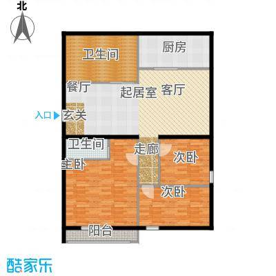 云龙公寓127.00㎡面积12700m户型