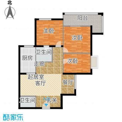 云龙公寓123.00㎡面积12300m户型