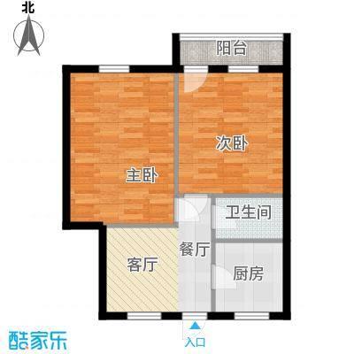 采荷青荷苑57.00㎡2面积5700m户型