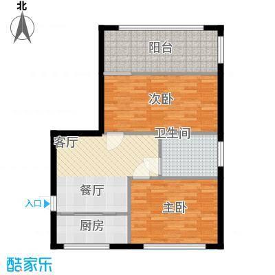 采荷青荷苑72.00㎡3面积7200m户型