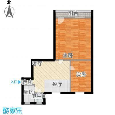 采荷青荷苑61.00㎡2面积6100m户型