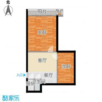 采荷青荷苑67.00㎡2面积6700m户型