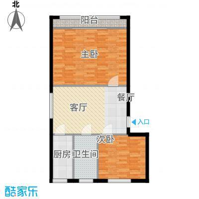 采荷青荷苑70.00㎡2面积7000m户型
