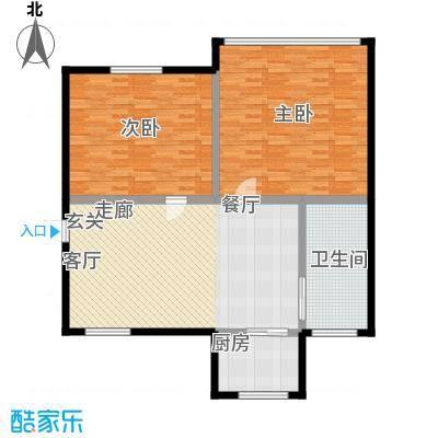 水木清华公寓115.00㎡面积11500m户型