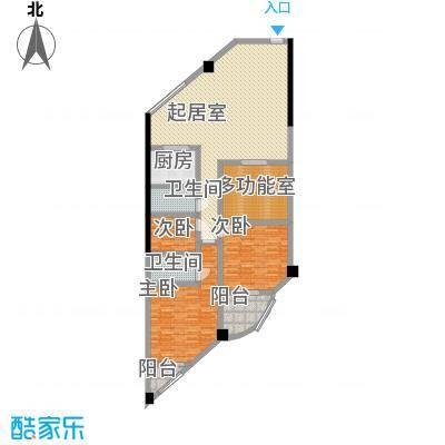 大地金墅157.02㎡A4-4面积15702m户型
