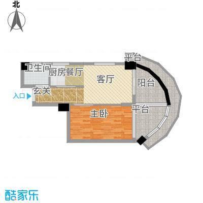 东方摩卡61.38㎡18-31层10面积6138m户型