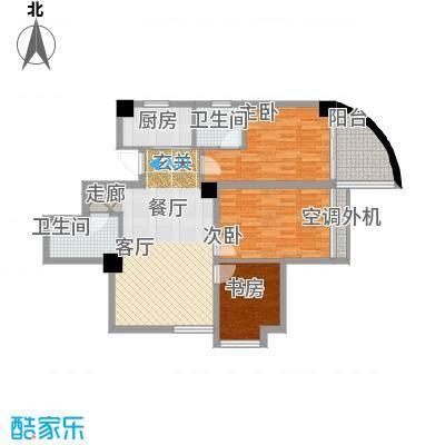 东方摩卡113.21㎡8-17层093面积11321m户型